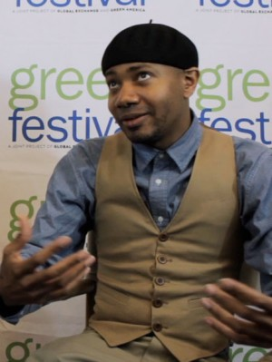 DJ Spooky Interviewed by James Hanusa at Green Festival New York City